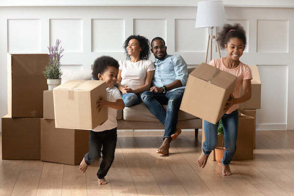 Marcella Parks black-family-unpacking-boxes-new-home Buyers